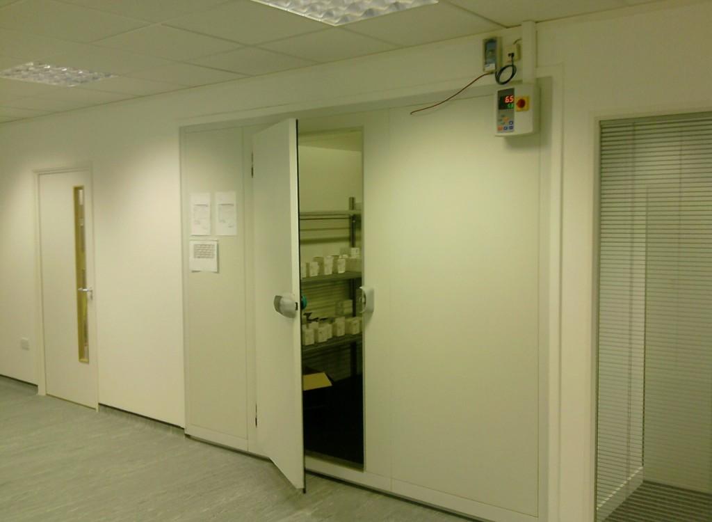 Optical Laboratory Coldrooms